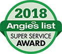 Angie's List 2018 Super Service Award Recipient