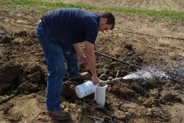 water well disinfection